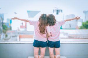Wellness geht auch zu zweit mit der besten Freundin